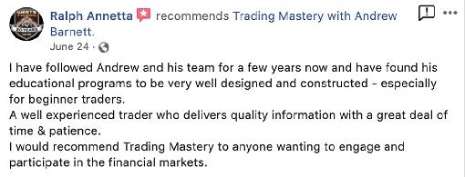Ralph Annetta - Trading Mastery